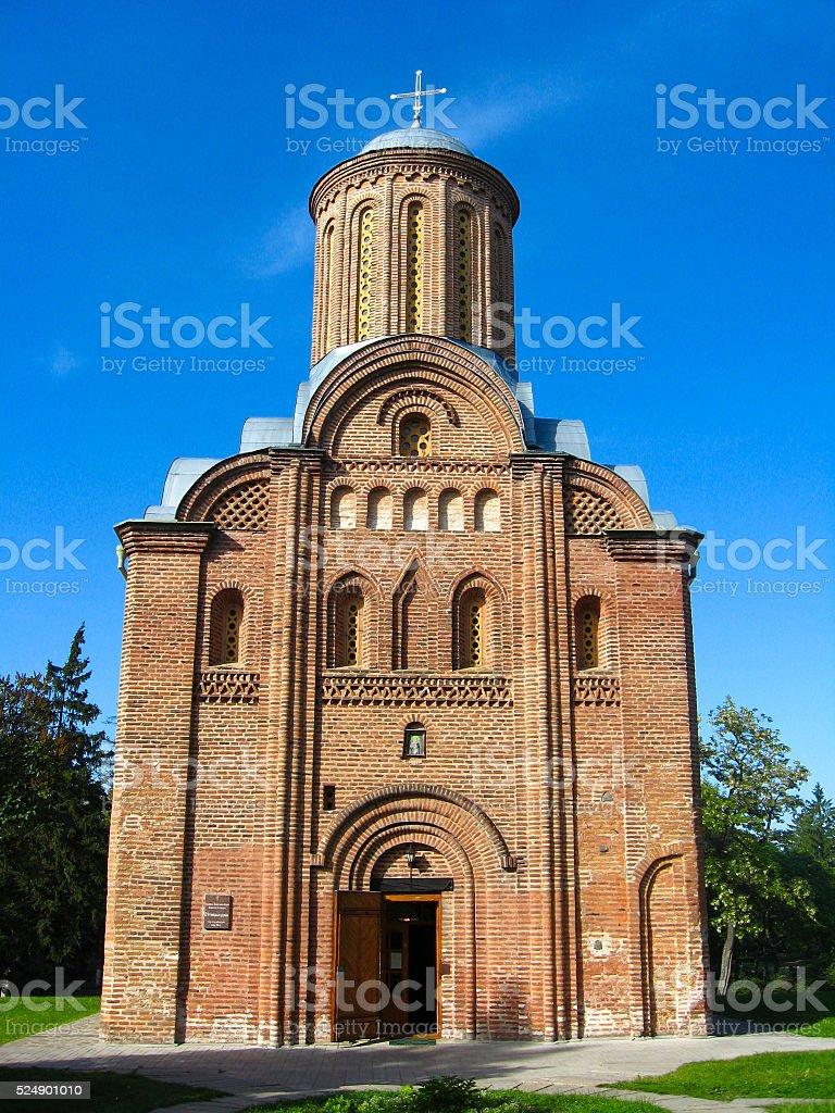 Pyatnitskaya church in Chernigiv town stock photo