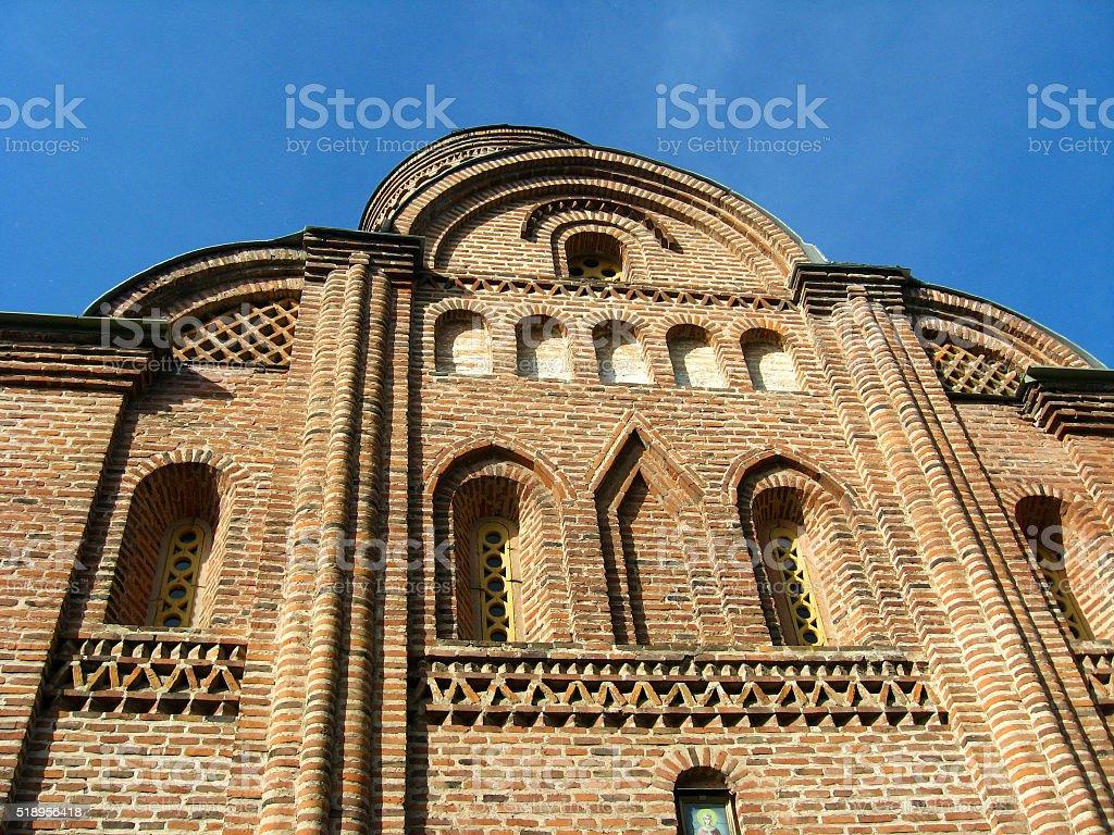Pyatnitskaya church in Chernihiv stock photo