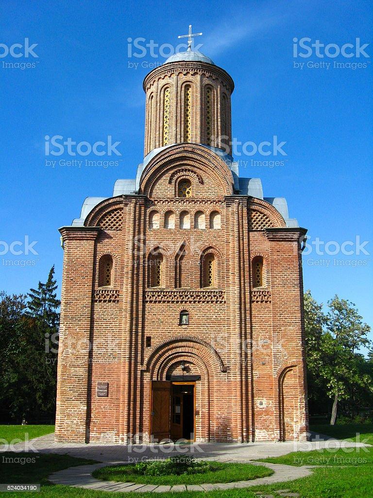 Pyatnitskaya church in Chernihiv, Ukraine stock photo