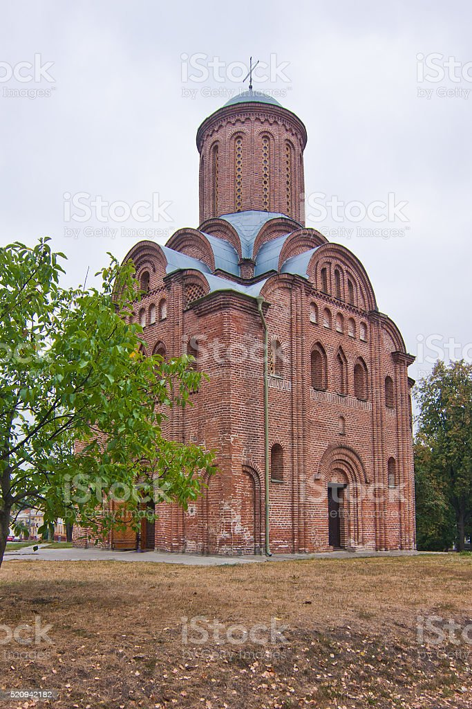 Pyatnytska (St. Paraskeva) church stock photo