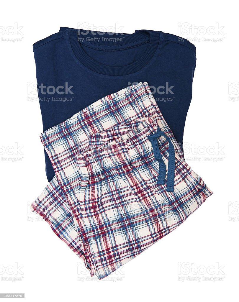 Pyjamas stock photo