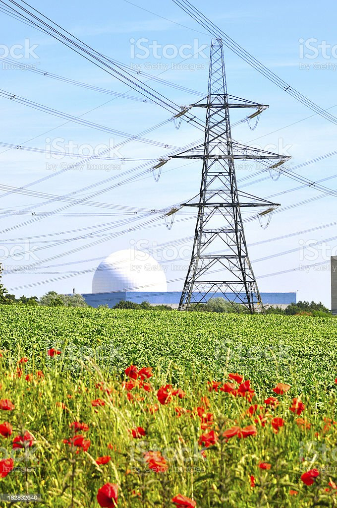 Pylon and dome royalty-free stock photo