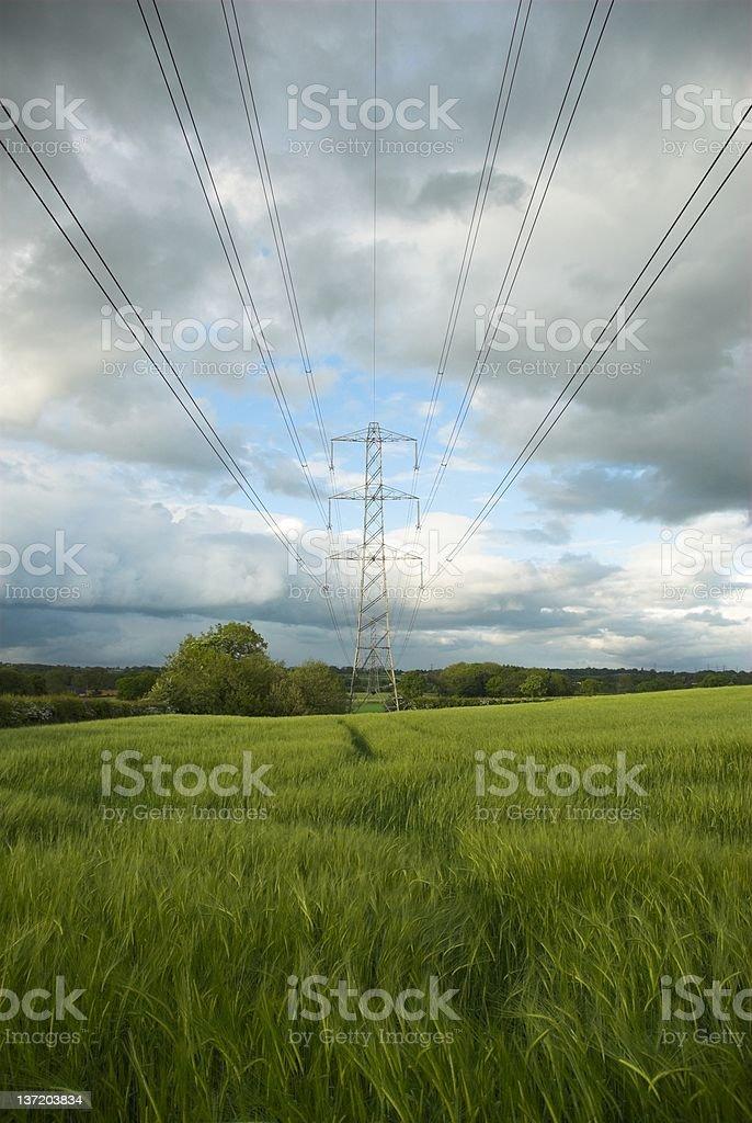 Pylon royalty-free stock photo