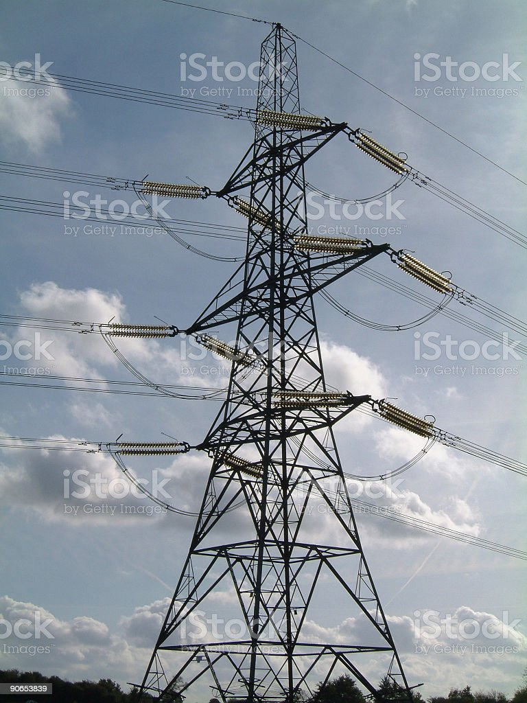 Pylon royalty-free stock photo