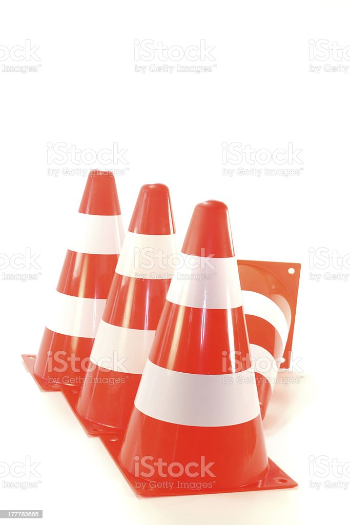 Pylons royalty-free stock photo