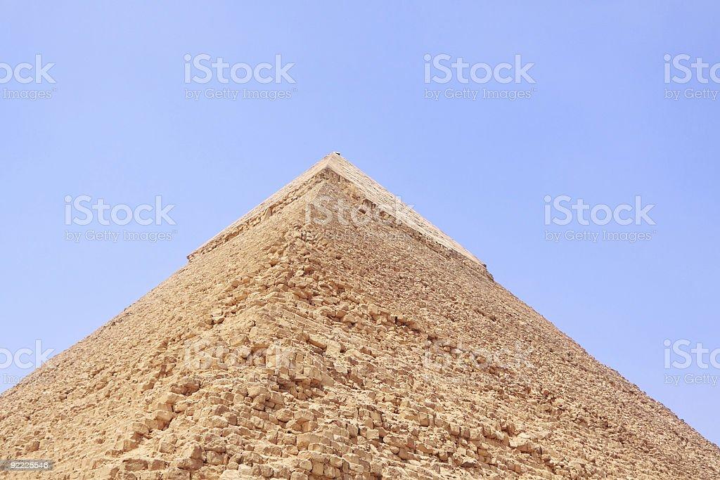 Pyramid at giza royalty-free stock photo