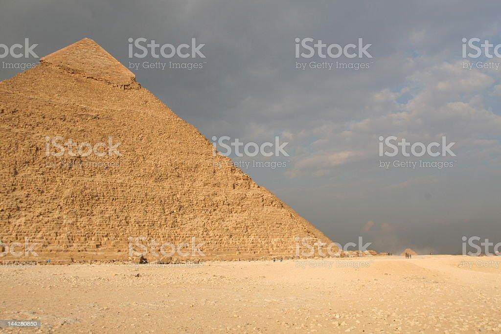 Pyramid Awe royalty-free stock photo