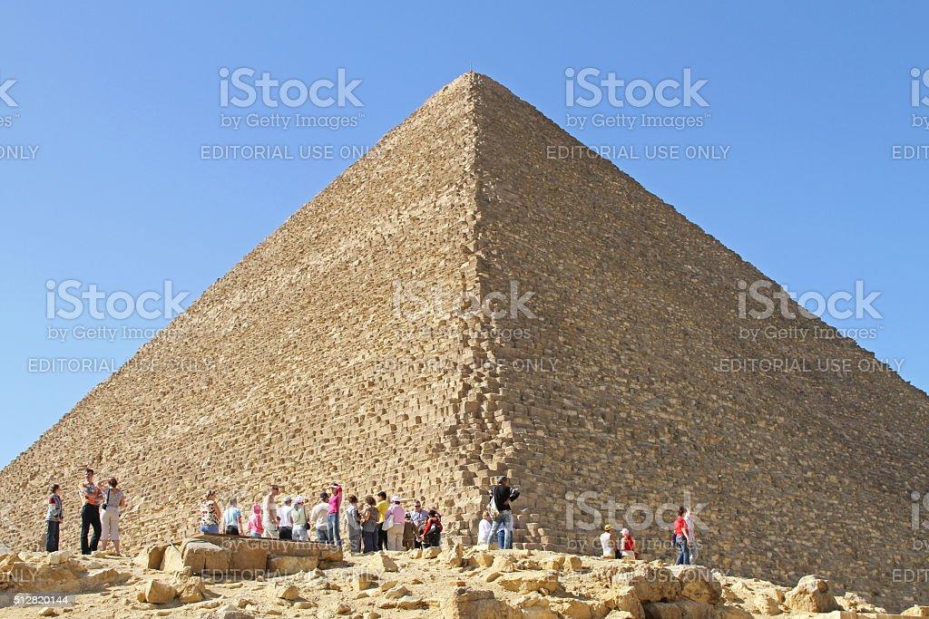 Pyramid Giza stock photo
