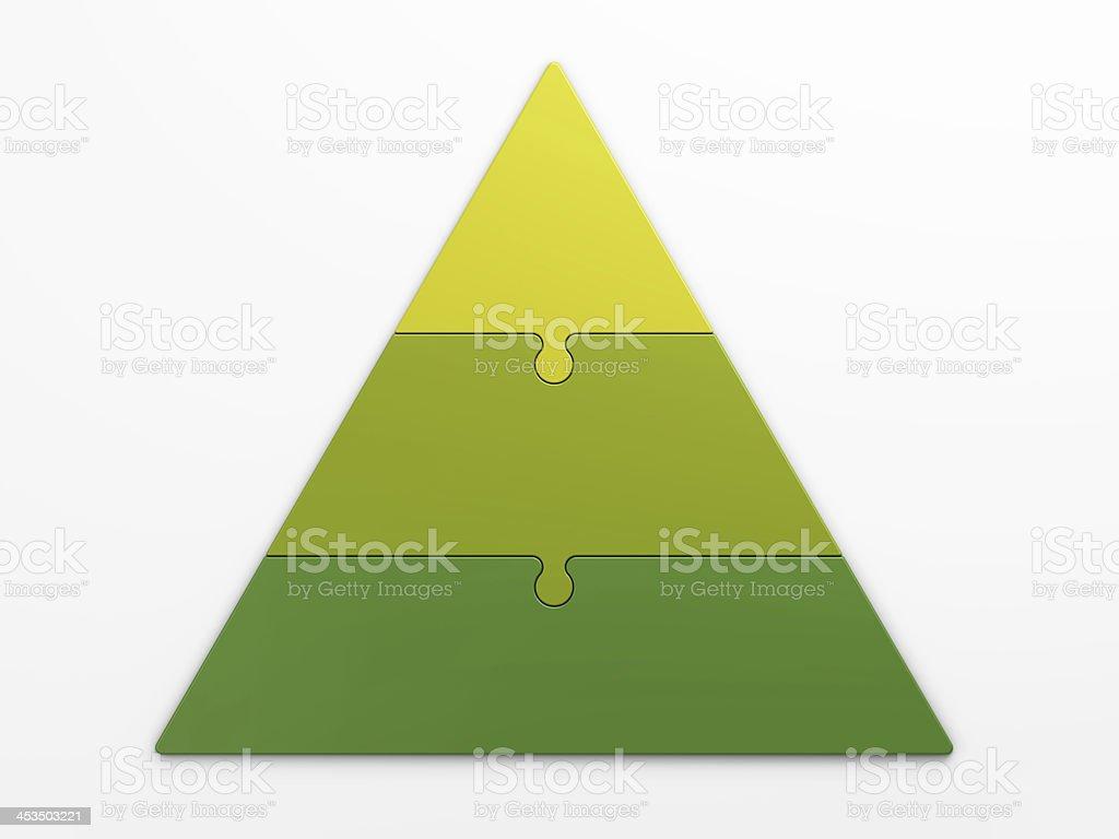pyramid hierarchy stock photo