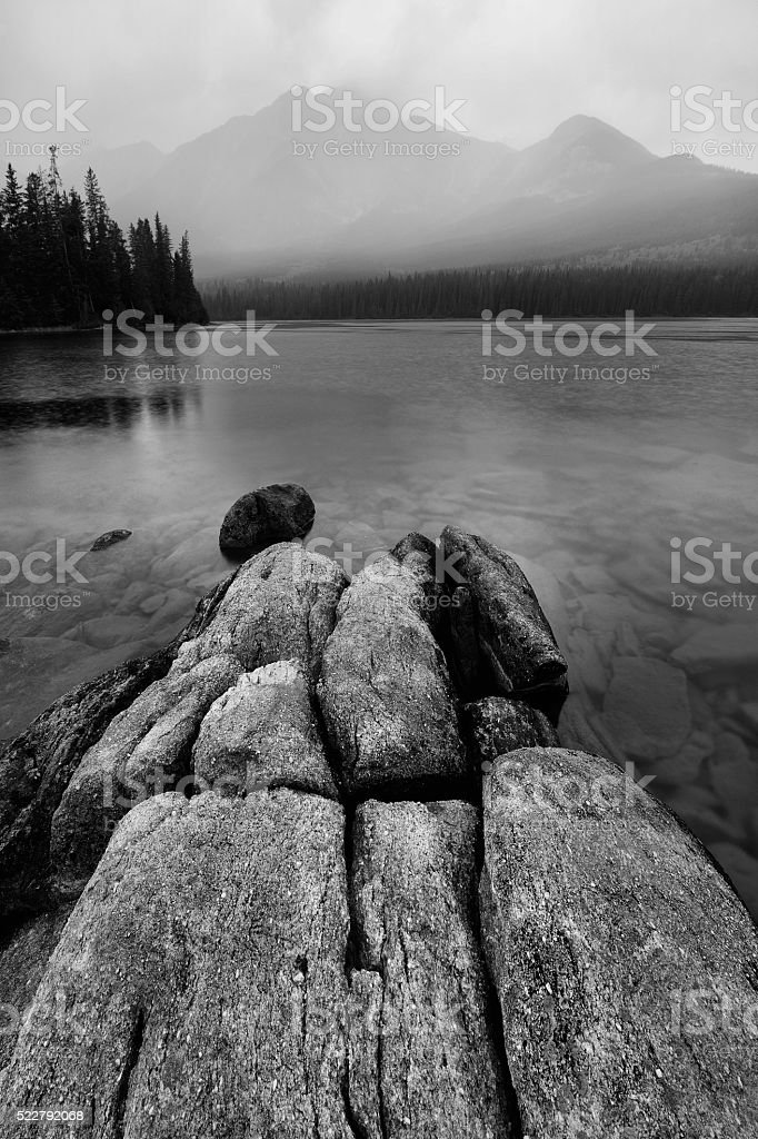 Pyramid Lake stock photo