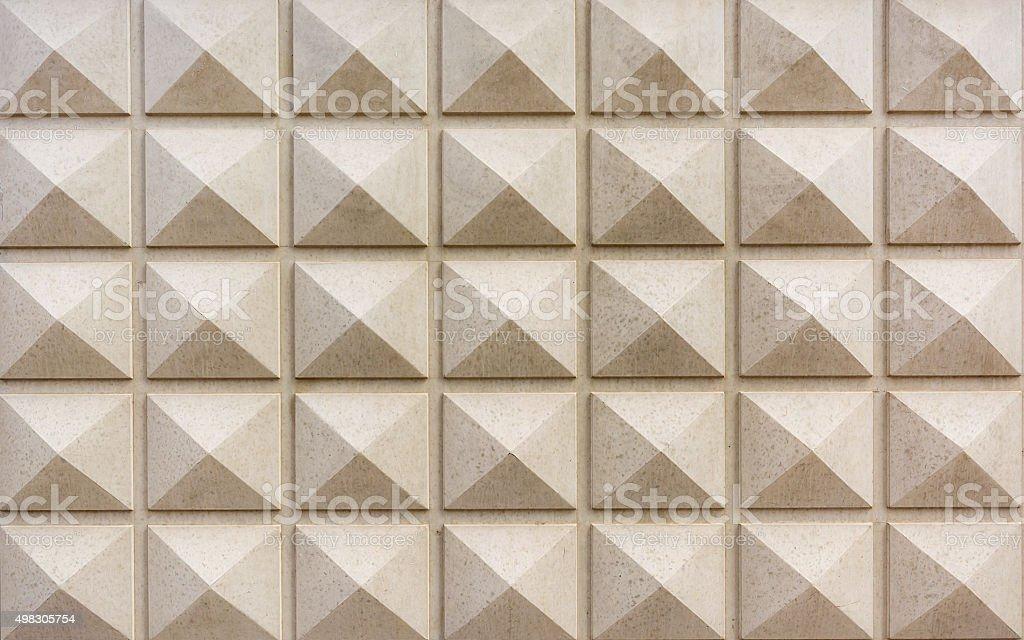 Pyramid marble stock photo