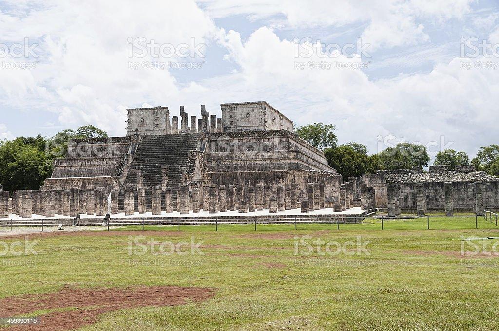 Pyramid -Mexico stock photo