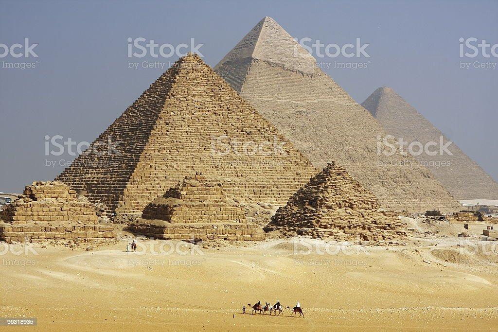 pyramid morning royalty-free stock photo