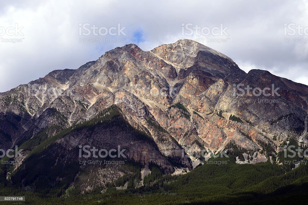Pyramid Mountain stock photo