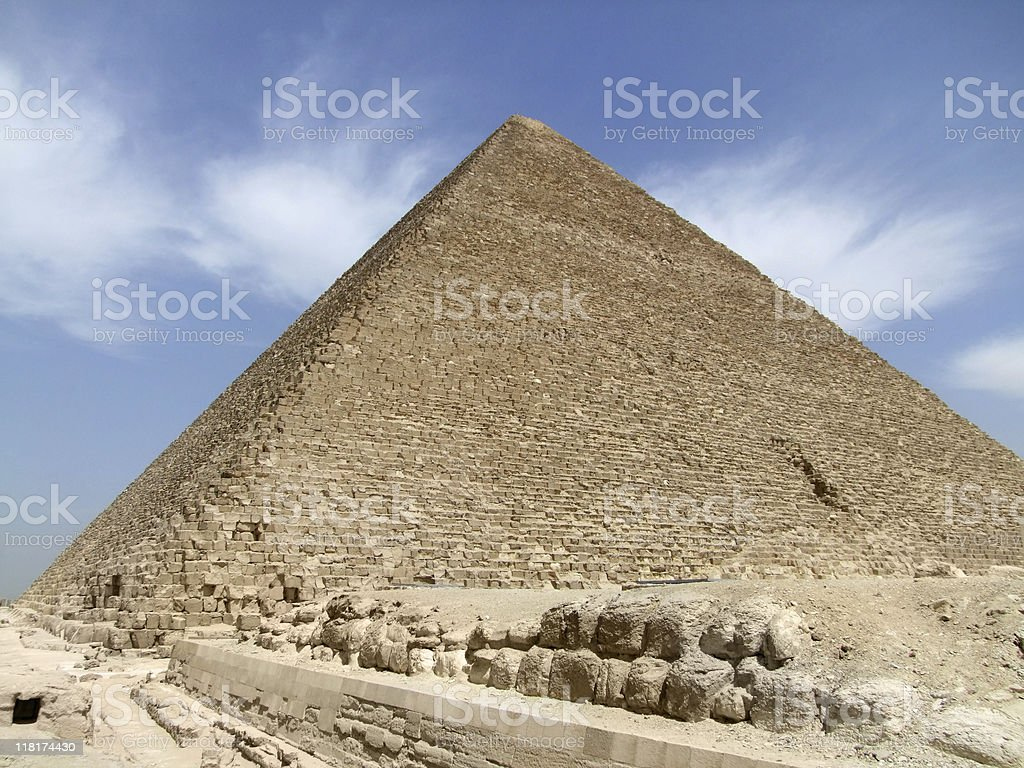 Pyramid of Cheops royalty-free stock photo