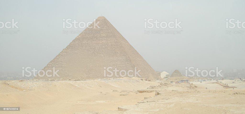Pyramid of Cheops stock photo