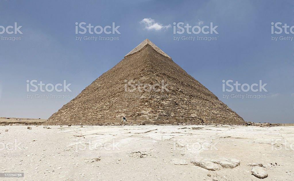 Pyramid of Chepren stock photo
