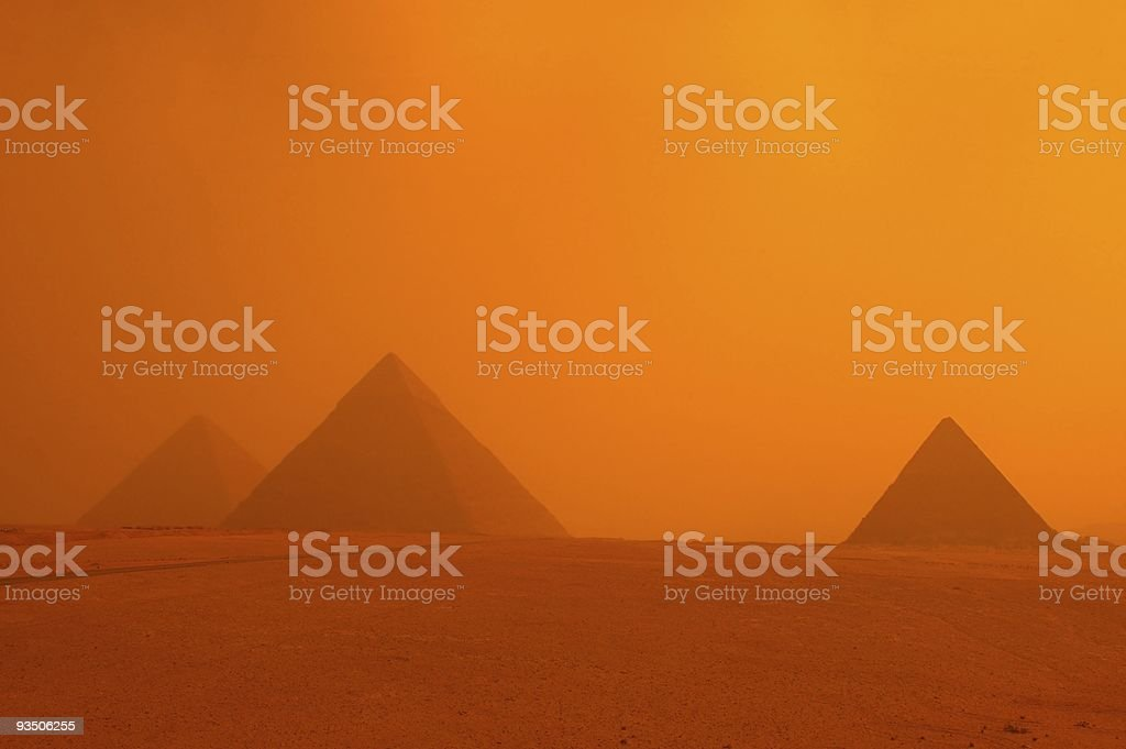 pyramid of  eygpt stock photo