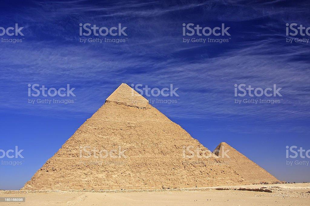 Pyramid of Khafre, Cairo royalty-free stock photo