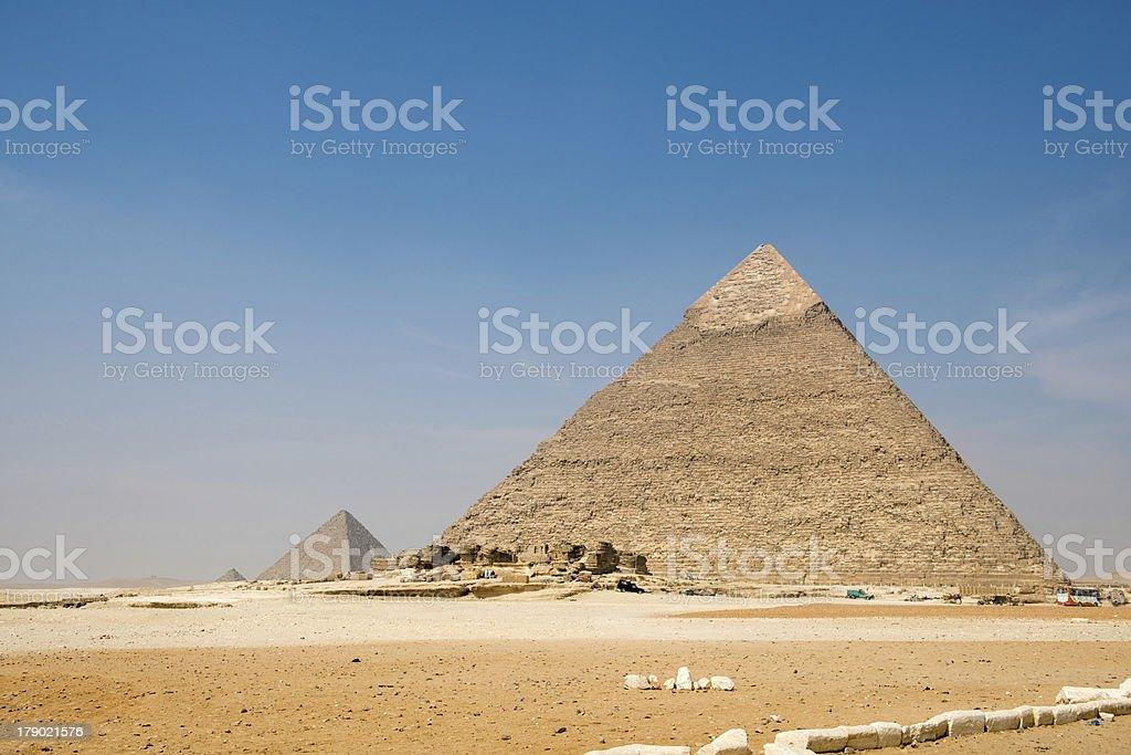 Pyramid of Khafre stock photo