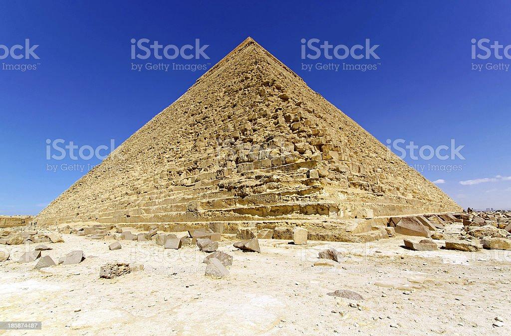Pyramid of Kharfe royalty-free stock photo