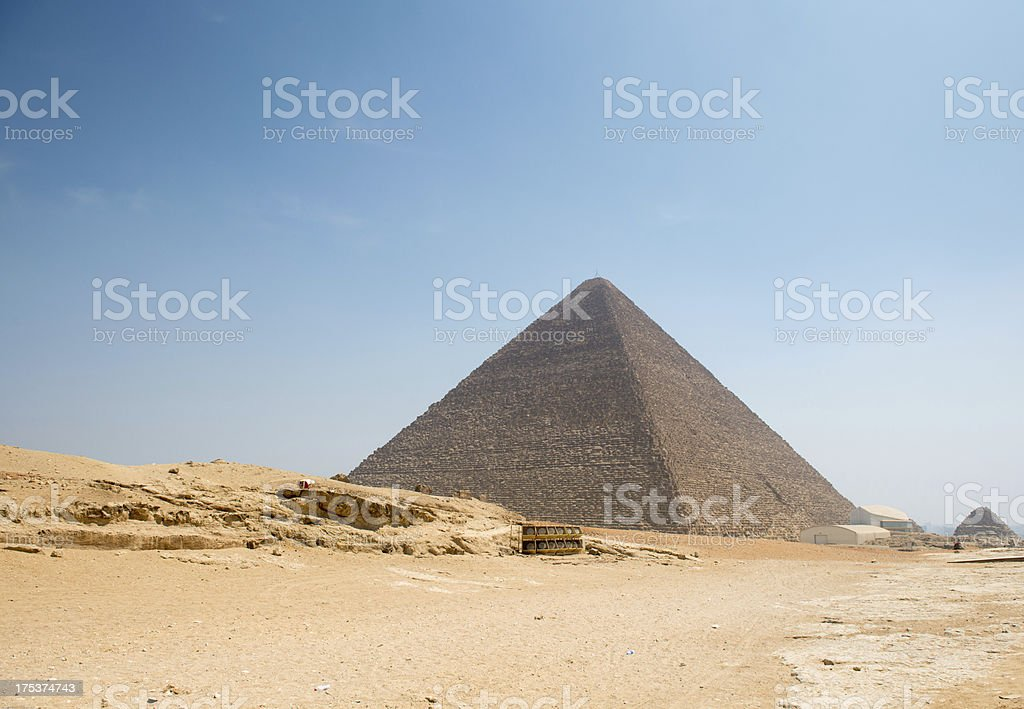 Pyramid of Khufu royalty-free stock photo