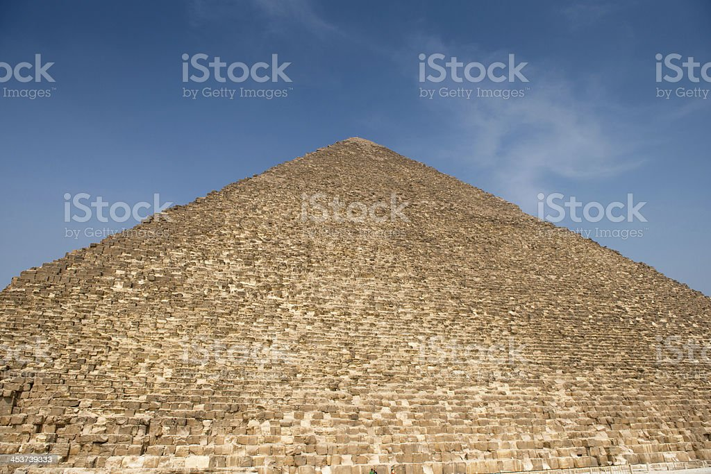 Pyramid of Khufu (Cheops) royalty-free stock photo