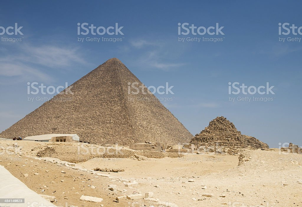 Pyramid of Khufu royalty-free stock photo