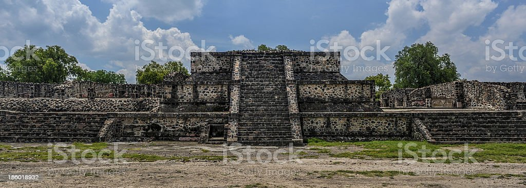 Pyramid of Teotihuacan stock photo