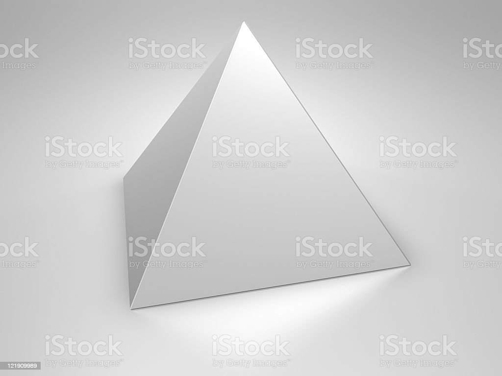Pyramid stock photo