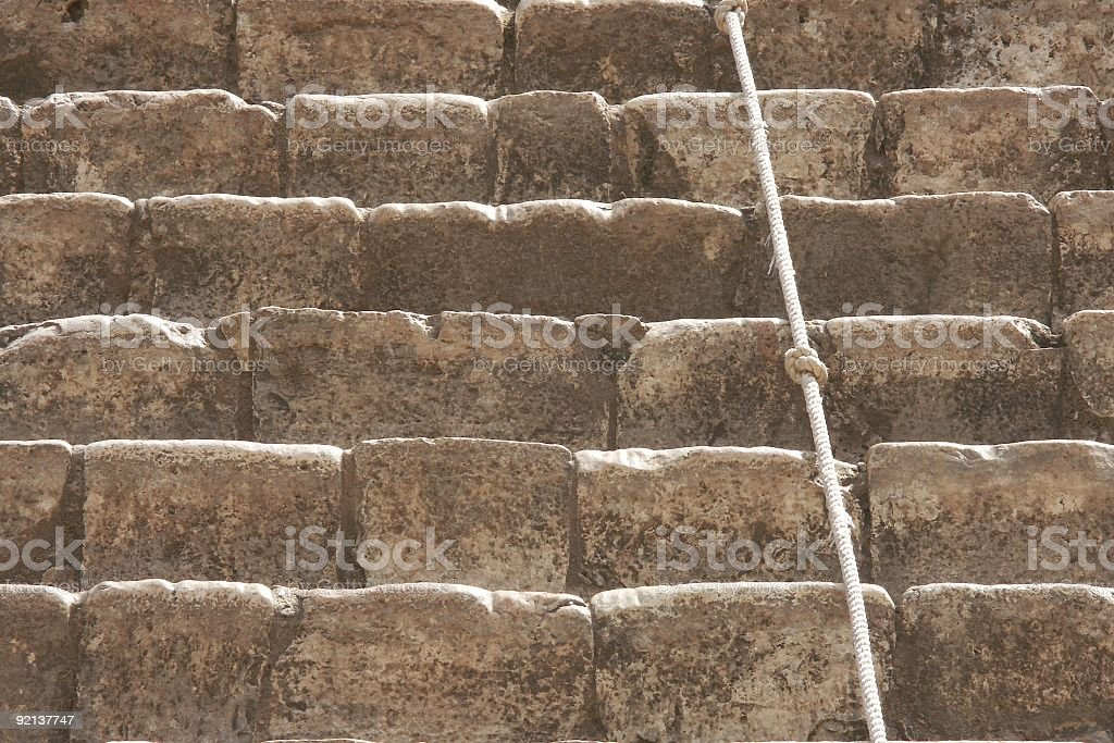 Pyramid Steps stock photo