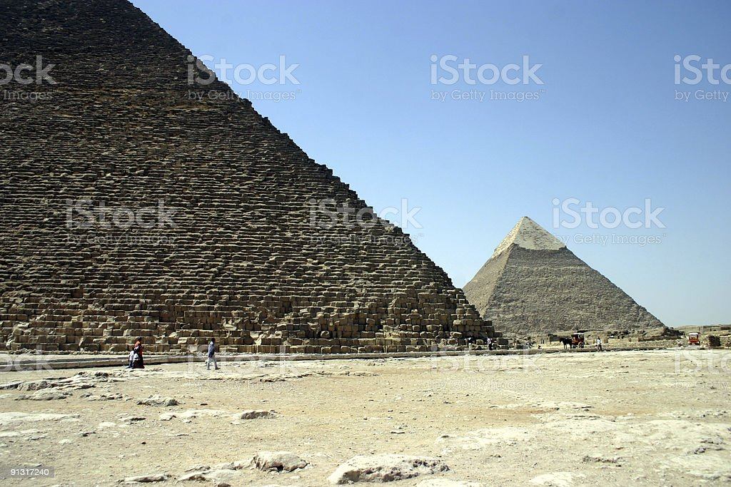 Pyramid View stock photo