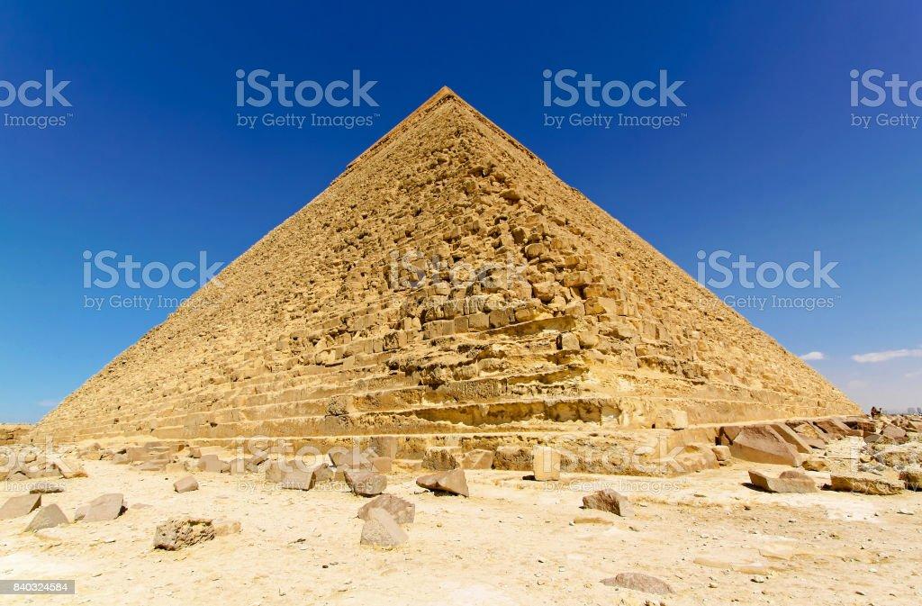 Pyramide of Chefren stock photo