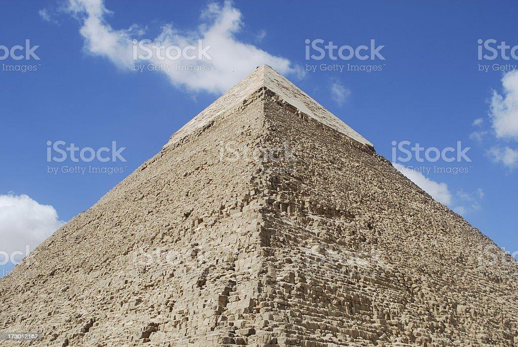 Pyramide royalty-free stock photo