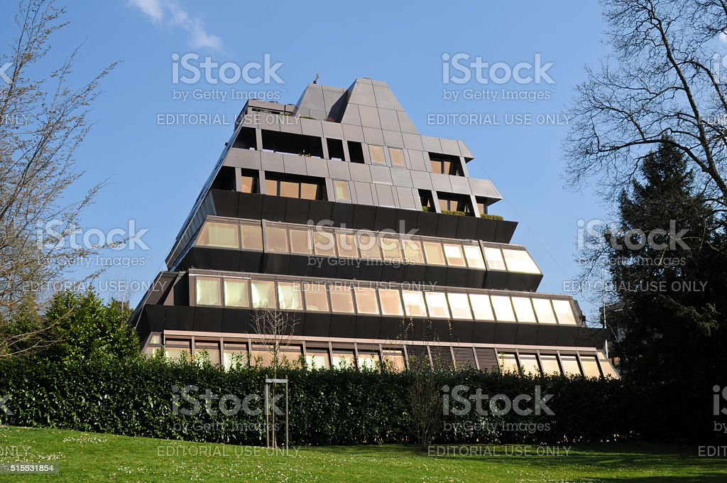 Pyramide Zurich - Center for plastic Surgery stock photo