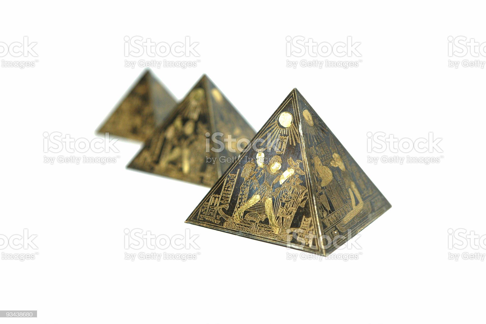 Pyramiden royalty-free stock photo