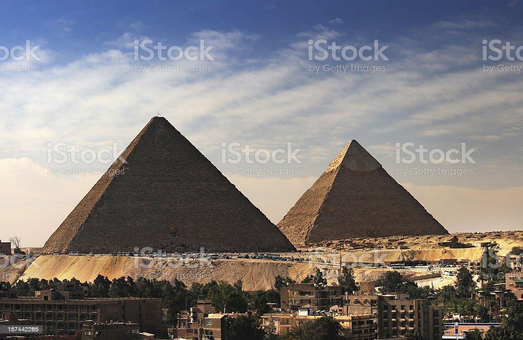 Pyramides royalty-free stock photo