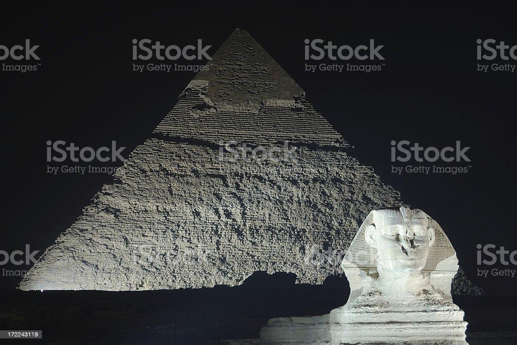 Pyramids 11 stock photo