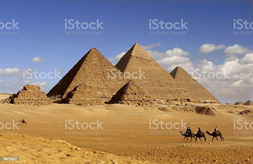 pyramids egypt royalty-free stock photo