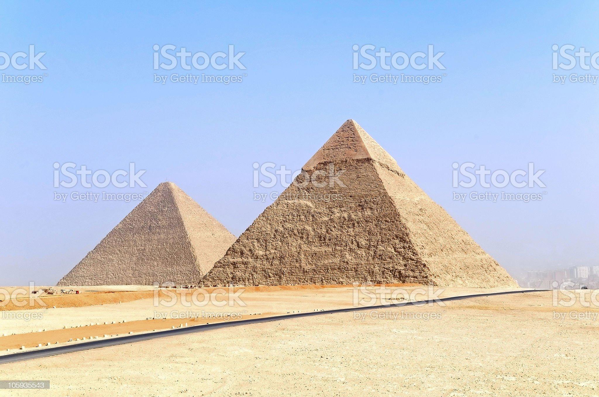 pyramids royalty-free stock photo