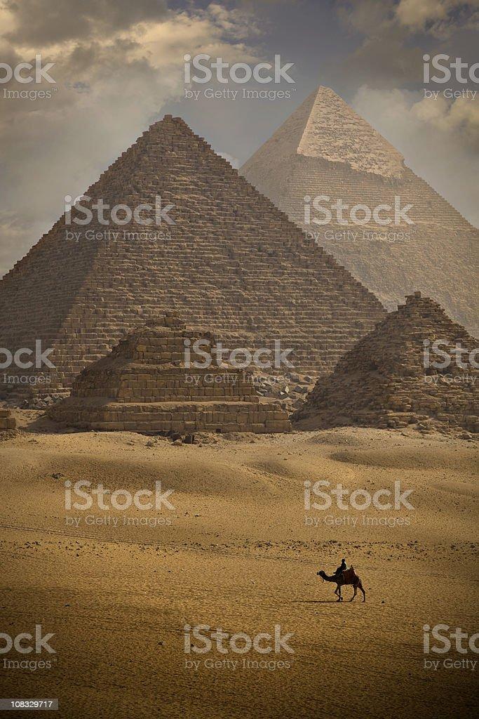Pyramids stock photo