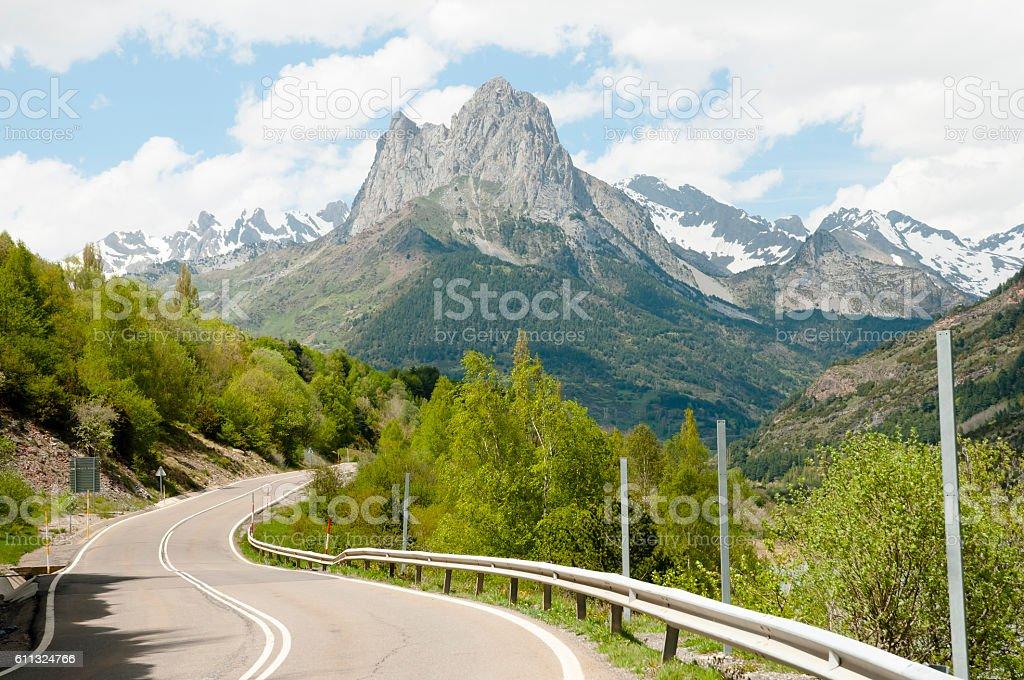 Pyrenees Mountains - Spain stock photo