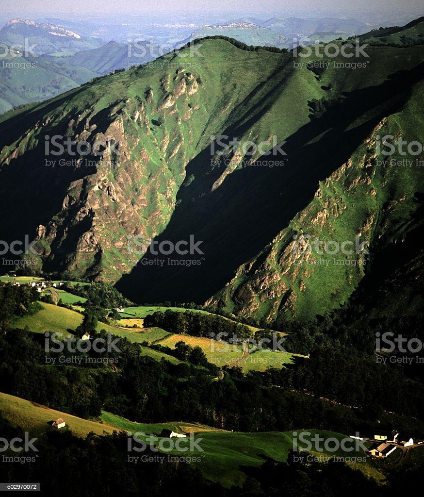 pyrenees stock photo