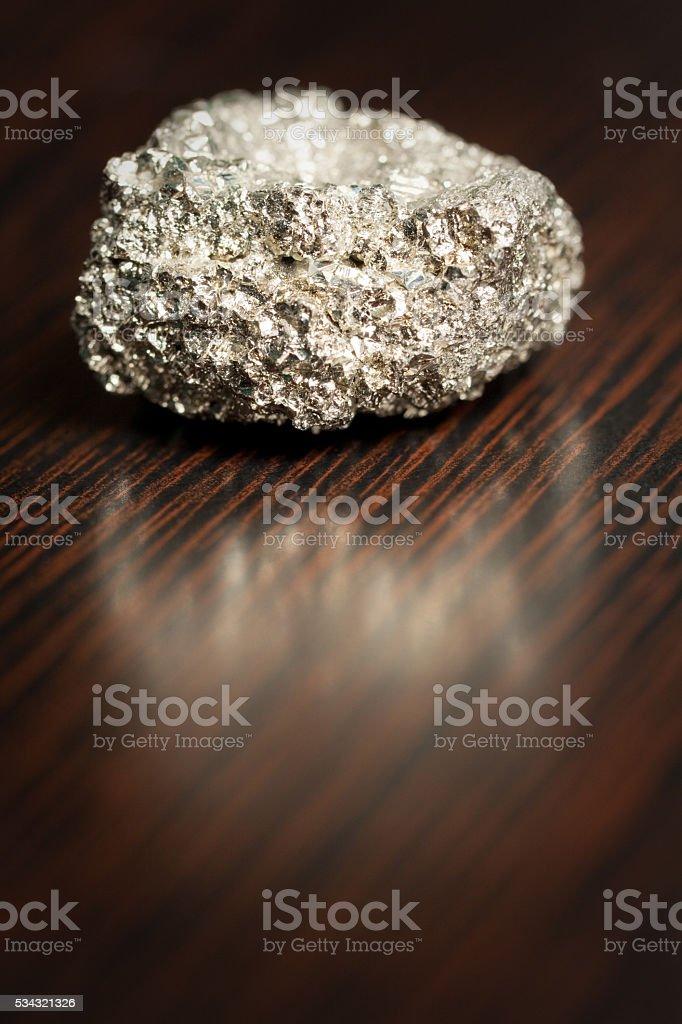 Pyrite - Fool's Gold stock photo