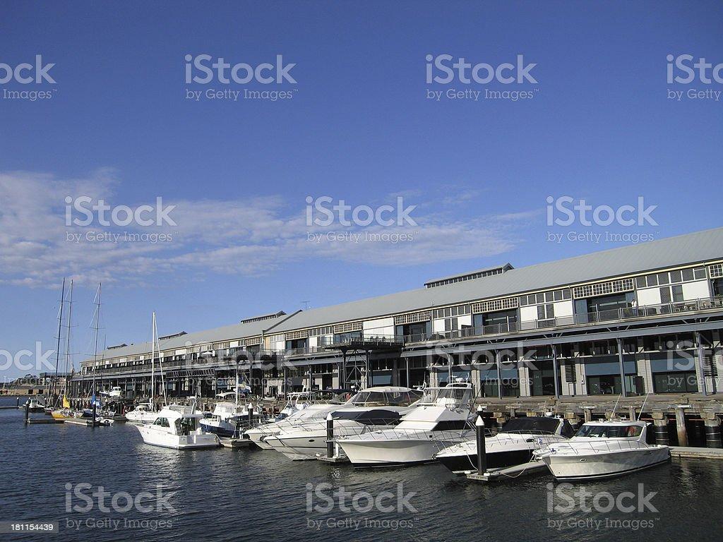 Pyrmont Wharf stock photo
