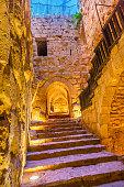 Qalat ar-Rabid Ancient Arabic Fortress Castle Ajlun Jordan
