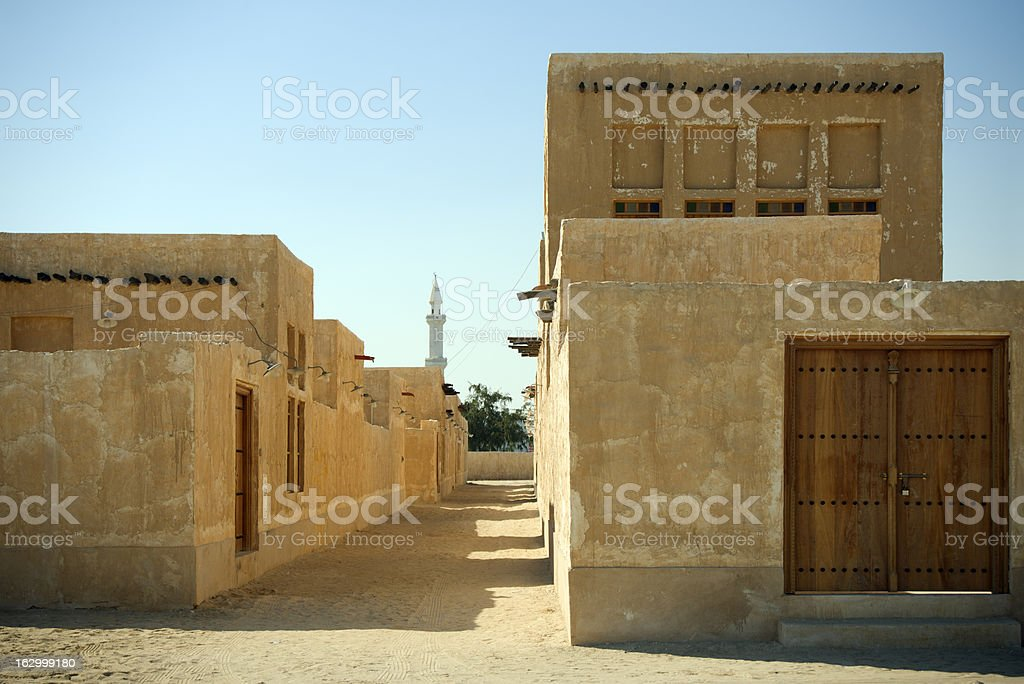 Qatar - Al Wakrah royalty-free stock photo