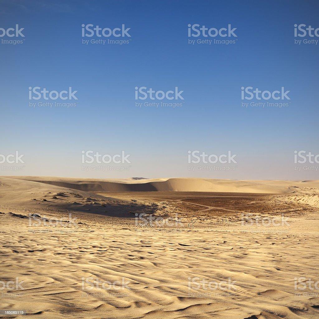 Qatar desert stock photo