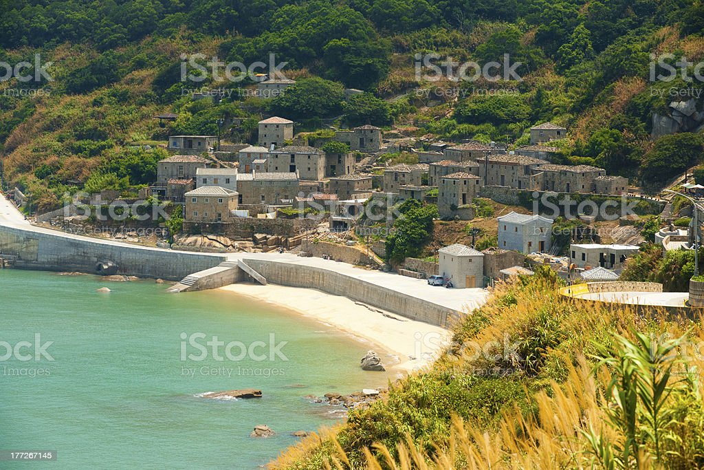 Qinbi Village Preserved Houses H stock photo