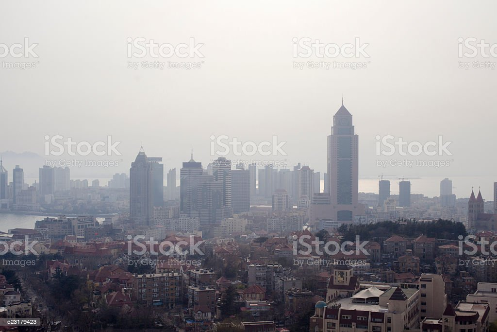 Qingdao City stock photo